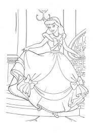 happy cinderella coloring pages coloring pages