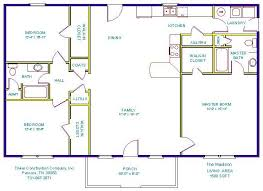 Floor Plans For Small Houses With 3 Bedrooms Open Floor Plans With Basements Floor Plans And Details 3