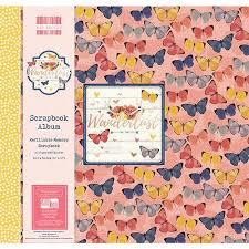 scrapbook album 12x12 edition wanderlust scrapbook album 12x12 fealb057 craftlines