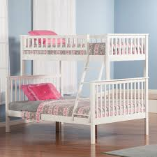bunk bed full size woodland twin over twin staircase bunk bed hayneedle