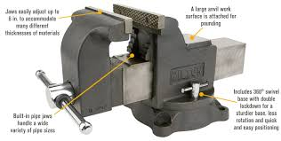 Mounting A Bench Vise Wilton Shop Bench Vise U2014 6in Jaw Width Model Ws6 Bench Vises