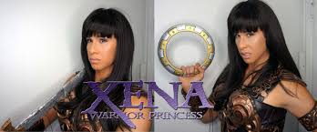 zena the warrior princess hairstyles halloween 2015 xena warrior princess drag transformation youtube