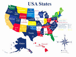 united states map with states and capitals and major cities us map state and capitals map of usa states quiz map puzzles