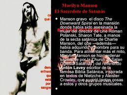 imagenes satanicas de marilyn manson el rock satanico y sus mensajes subliminales