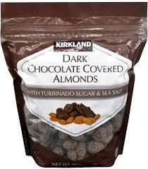 kirkland signature dark chocolate covered almonds 907g grab this
