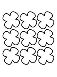 4 leaf clover template clover activities templates
