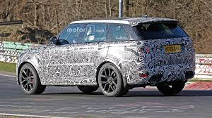 range rover svr black land rover range rover sport svr spied lapping the u0027ring