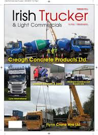 irish trucker february 2016 by lynn group media issuu