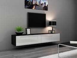 Wall Mount Tv Furniture Design Amazon Com Seattle Tv Stand 180 U2013 Tv Cabinet With High Gloss
