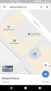 California Airports Map Google Maps V9 49 Beta Gets A Manual Parking Location Tracker