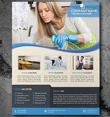 house cleaning flyer template 24 psd format download free