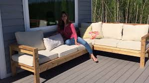 Build Outdoor Wood Furniture by Wonderful Diy Outdoor Sectional Plans Ana White Build A Coffee