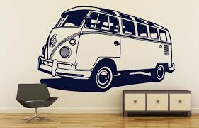 Vw Camper Vintage Collection For Wall Decor Old Vintage Iconic