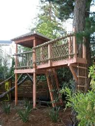 Backyard Play Structure by The Tree House On The Natural Playscape At Arlitt What A