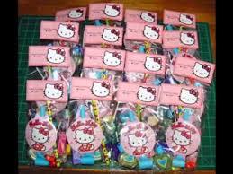 Hello Kitty Hanging Decorations Diy Hello Kitty Birthday Party Decorating Ideas Youtube