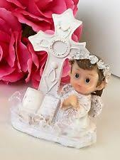 communion cake toppers baptism cake topper christening silver cross baby boy girl