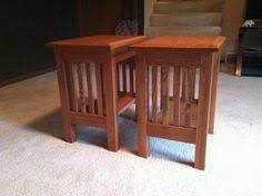Plans To Build End Tables by These Mission End Table Plans Are For The Woodworking Beginner