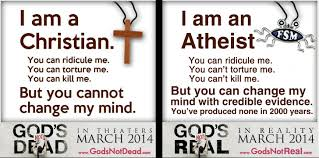 Atheist Vs Christian Meme - christian vs atheist meme am a christian vs we am an atheist