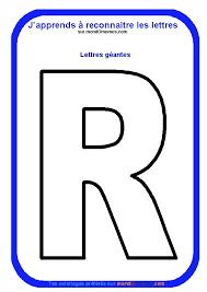 coloriage alphabet lettres géantes coloriage lettre r géante