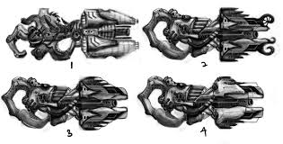 weapon concept flak cannon by kaely33 on deviantart