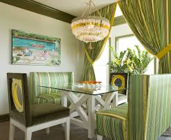 desain interior trendy curtain for dining room with green desain interior with