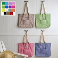personalized cotton candy bags custom embroidered pastels canvas tote bag personalize at