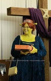 Shrek Halloween Costumes Adults Diy Shrek Fiona Couple Halloween Costume