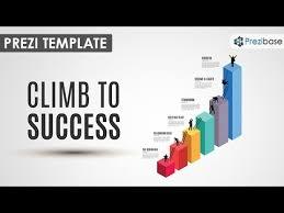 climb to success prezi template youtube