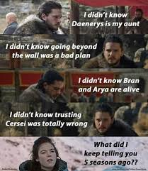 You Know Nothing Meme - you know nothing jon snow freefolk