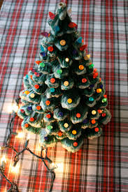 Christmas Lights Classy Best Way by 81 Best Ceramic Christmas Trees Images On Pinterest Ceramic