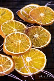 how to make dried orange slices add a pinch