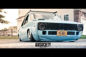 volkswagen golf mk1 modified papa smurf joshua joyce u0027s mk1 rabbit turbo diesel airsociety