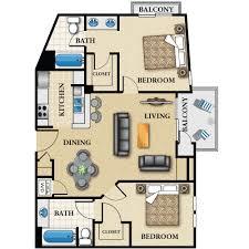 2 bedroom apartments in la 2 bedrooms 2 bathrooms los angeles apartment the medici