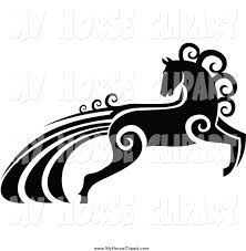ferrari logo black and white vector royalty free stock horse designs of business logos