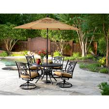 Agio 7 Piece Patio Dining Set - agio u2014 housewarmings