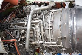 Turbine Engine Mechanic Opened Aircraft Engine In The Hangar Stock Photo Picture And