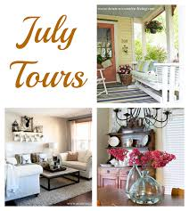 Town And Country Living by Shelstring Blog Summer Home Tour Series