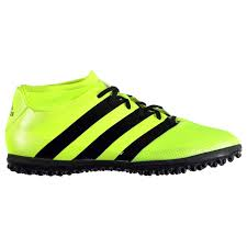 Astro Turf Adidas Mens Ace 16 3 Primemesh Astro Turf Trainers Football Boots