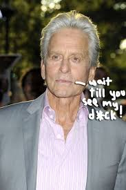 Big Penis Memes - michael douglas wants the world to know he has a big penis