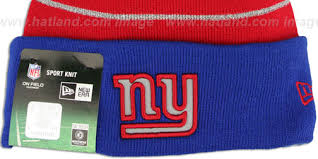 ny giants thanksgiving day knit beanie hat by new era at hatland