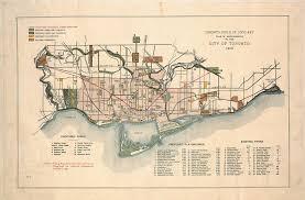 Map Of Toronto East York Toronto Ont