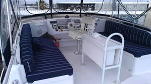 Boat Interior Refurbishment Tnt Marine Canvas And Upholstery Boat Cushions Canvas Interior