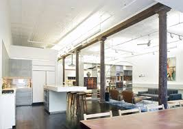 new york loft kitchen design loft of 300 square meters in new york