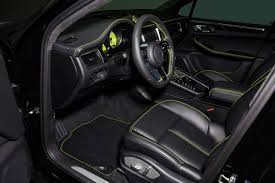porsche macan 2016 interior techart creates sinister porsche macan turbo upgrade package