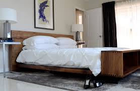 how to build rustic platform bed frame editeestrela design