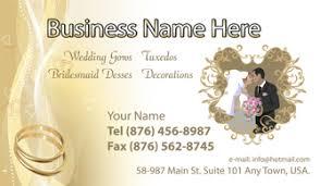 Business Card Wedding Shop Business Cards