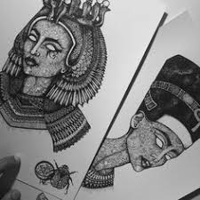 cleopatra tattoo idea pharaon tattoo ideas pinterest