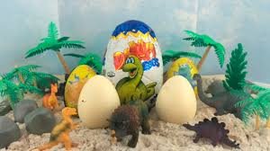 chocolate dinosaur egg dinosaur eggs opening kinder zaini chocolate eggs