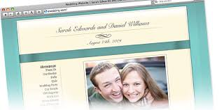 wedding site listing your bridal party on your wedding website ewedding