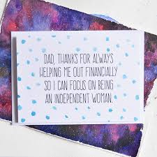 funny dad quote card polka dot by philly u0026 brit